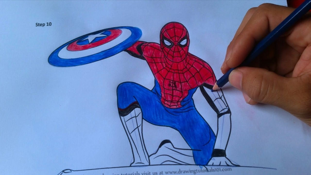 spiderman homecoming coloring pages - watch v=Gr0G1Vsjna4