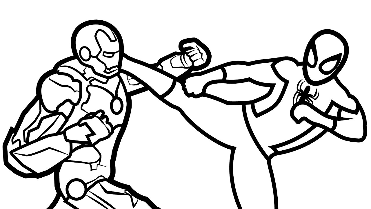 spiderman homecoming coloring pages - watch v=gaip mKJUzA