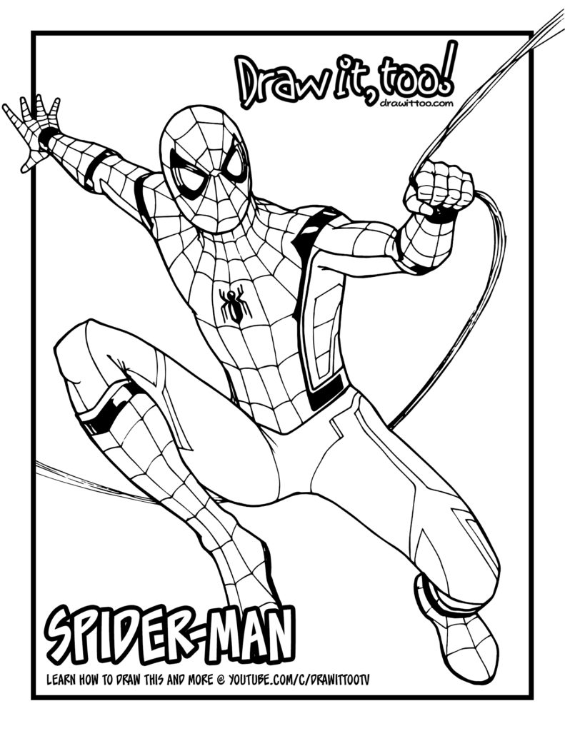Spiderman Homecoming Coloring Pages - the Amazing Spiderman Coloring Page Home Ing Coloring Page
