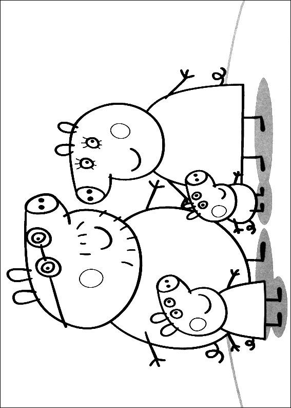 spirit coloring pages - Peppa de Big