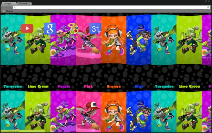 splatoon coloring pages -