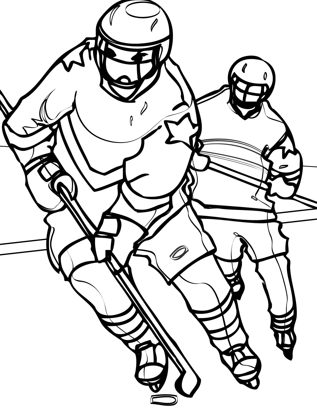 sports coloring pages - printable sports coloring pages