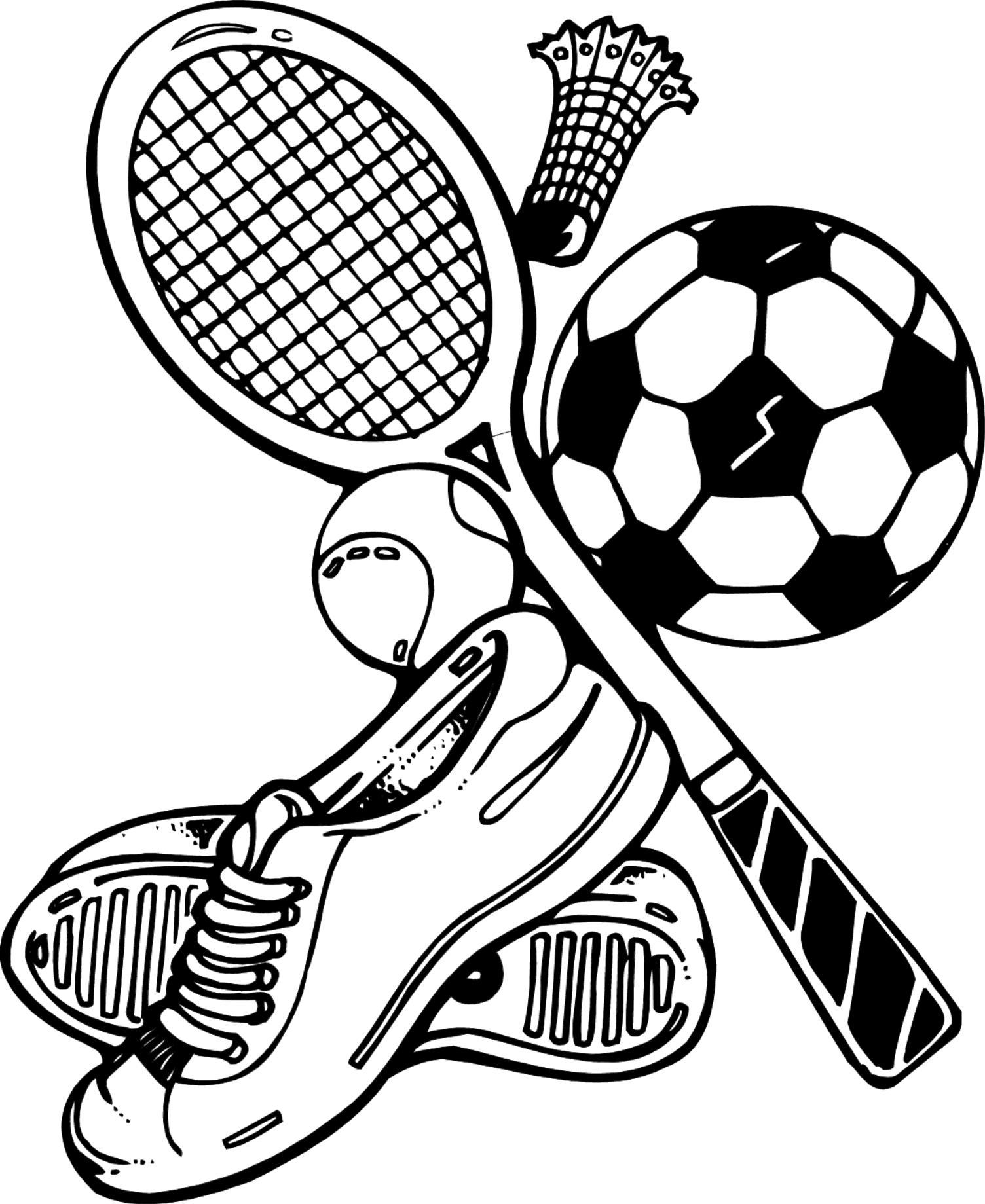 Sports Coloring Pages - Sports Coloring Pages