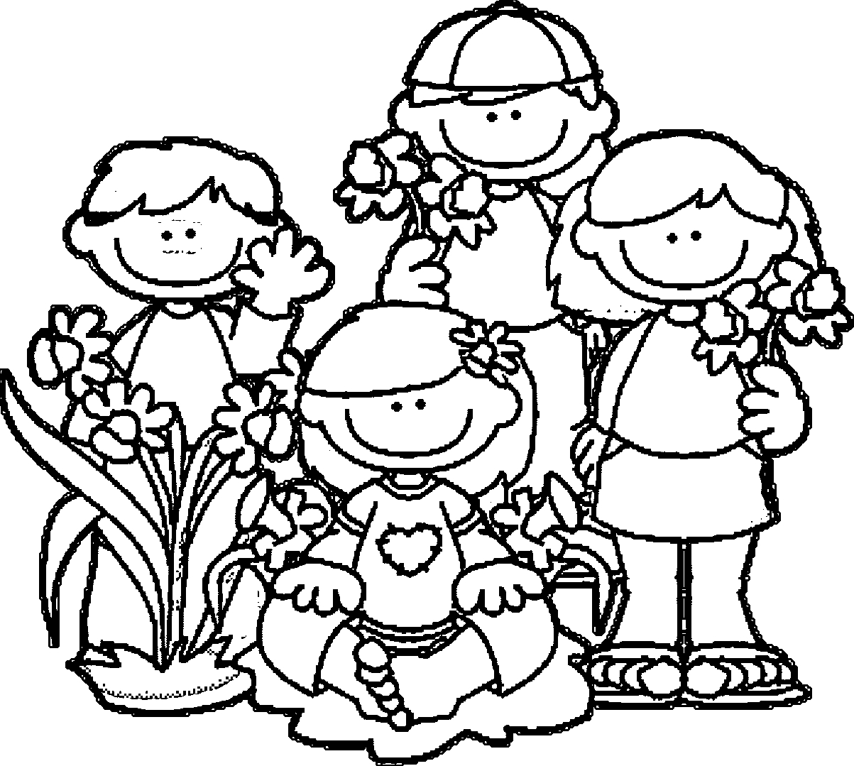 Spring Break Coloring Pages - Spring Break Coloring Page Coloring Home