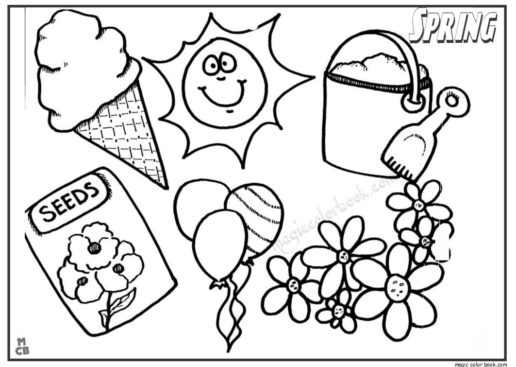 spring break coloring pages - collectionsdwn spring break logo