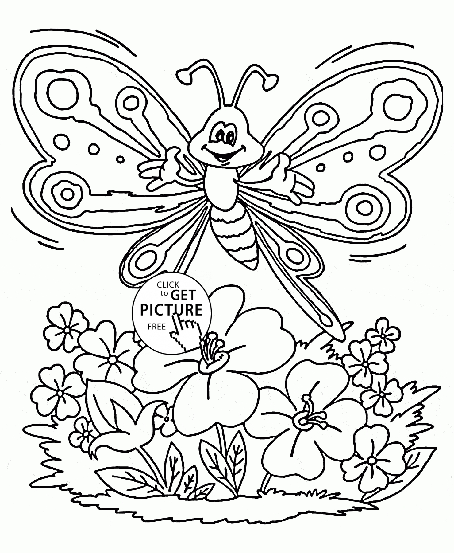 20 Spring Coloring Pages for Preschoolers Collections | FREE ...