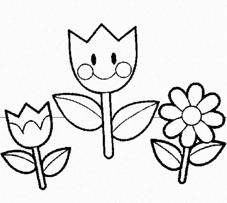 spring coloring pages for preschoolers - preschool spring coloring pages