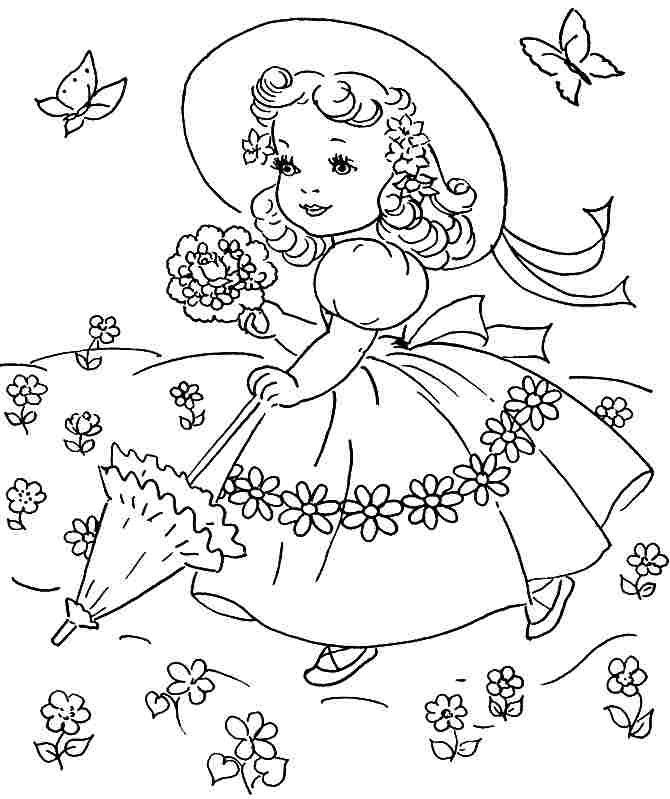 28 Spring Coloring Pages Printable Images | FREE COLORING PAGES - Part 3