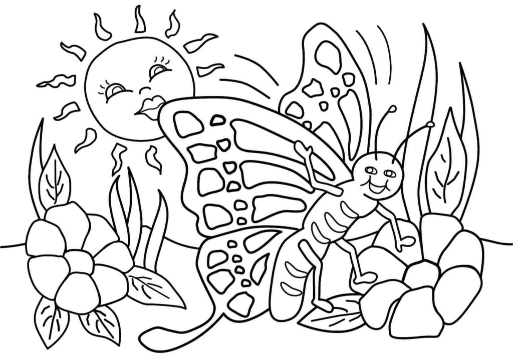 28 Spring Coloring Pages Printable Images | FREE COLORING PAGES