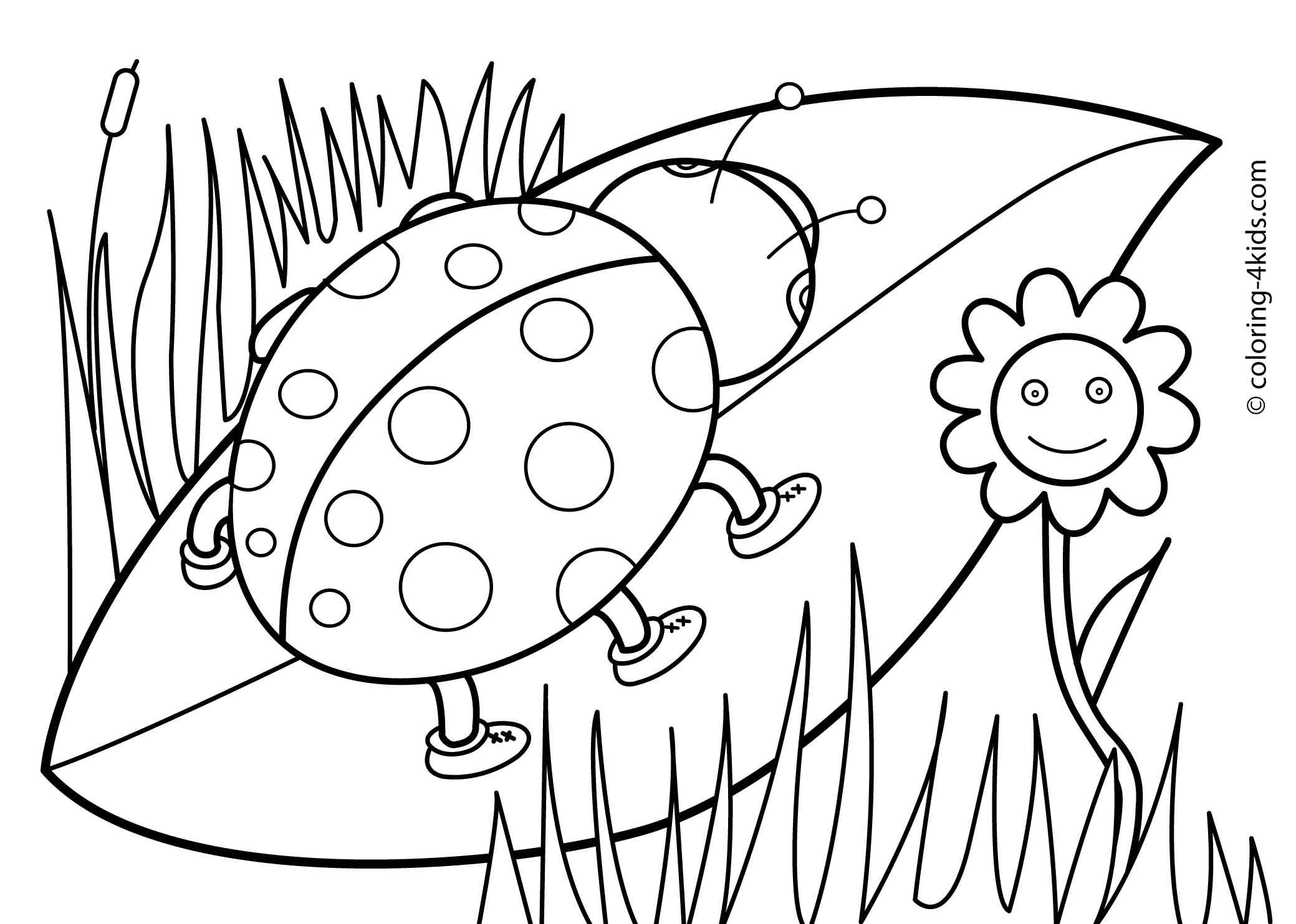spring coloring pages printable - 20