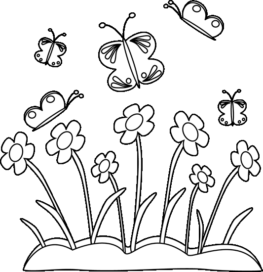 spring coloring pages -