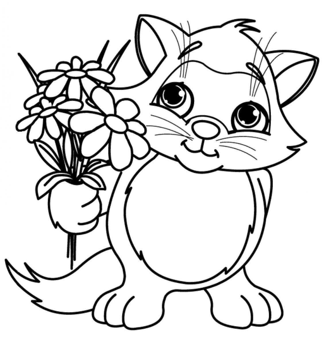 24 Spring Flowers Coloring Pages Selection | FREE COLORING PAGES ...