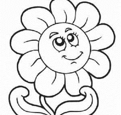 springtime coloring pages - disegni colorare margherite bambini