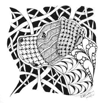 springtime coloring pages - x Zentangle Inspired