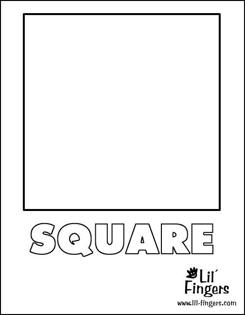 square coloring pages - q=square trace