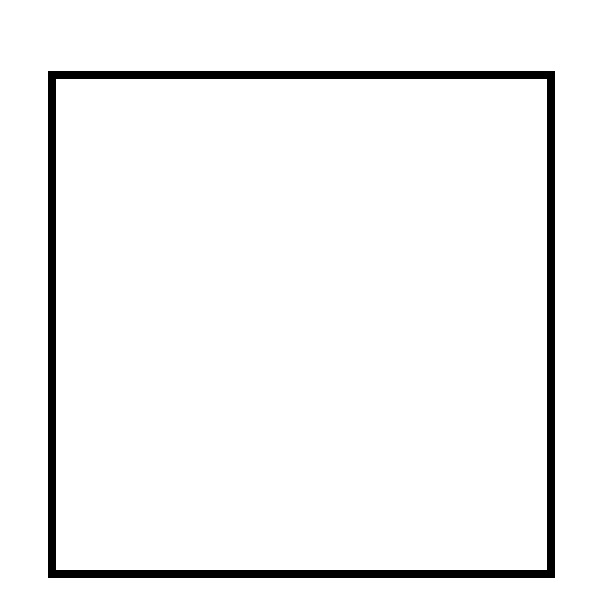 square coloring pages - square shape to color