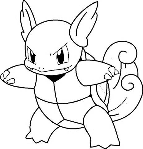 squirtle coloring page - le coloring page