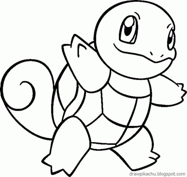 squirtle coloring page - le coloring pages