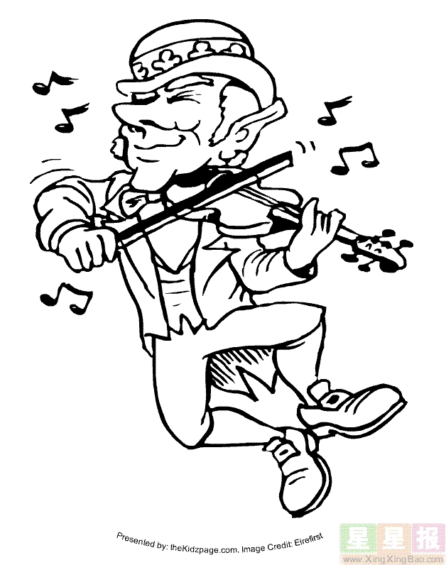 st patrick day coloring pages free -