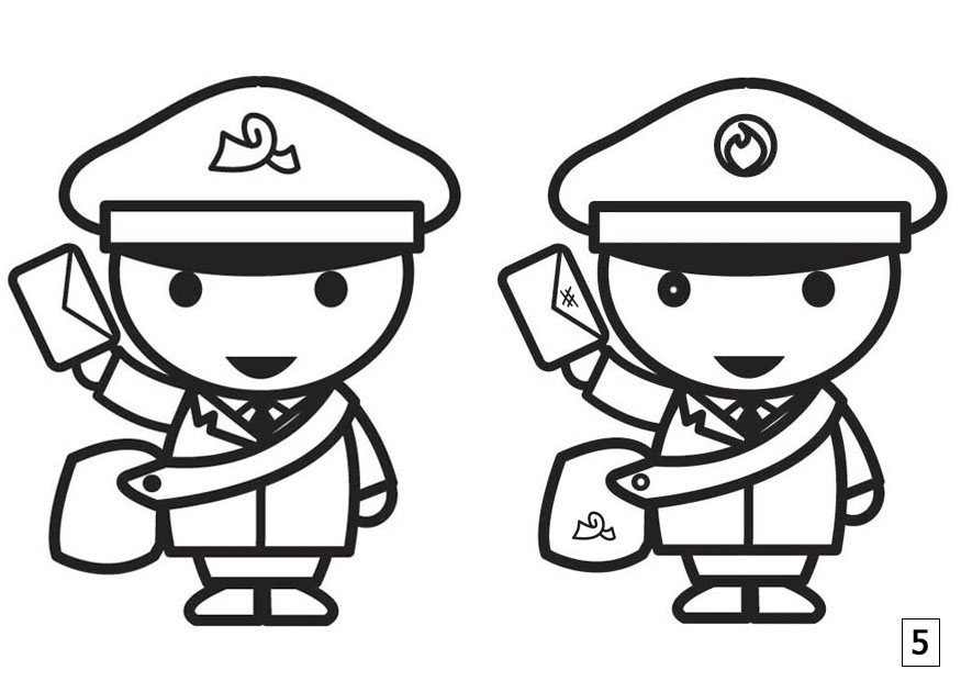 st patrick day coloring pages free - spot and find the difference worksheets