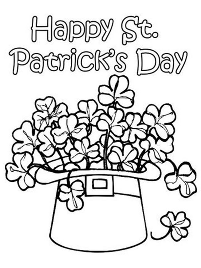 25 St Patrick\'s Day Coloring Pages for Adults Compilation   FREE ...