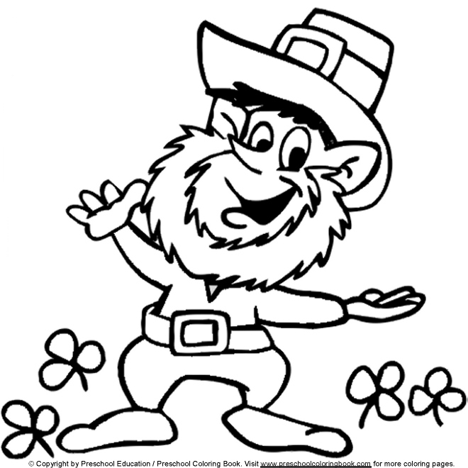 25 St Patrick S Day Coloring Pages For Adults Compilation Free