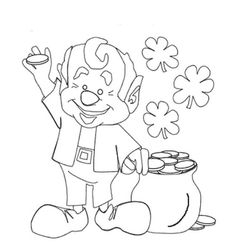 st patrick's day coloring pages for adults - st patricks day