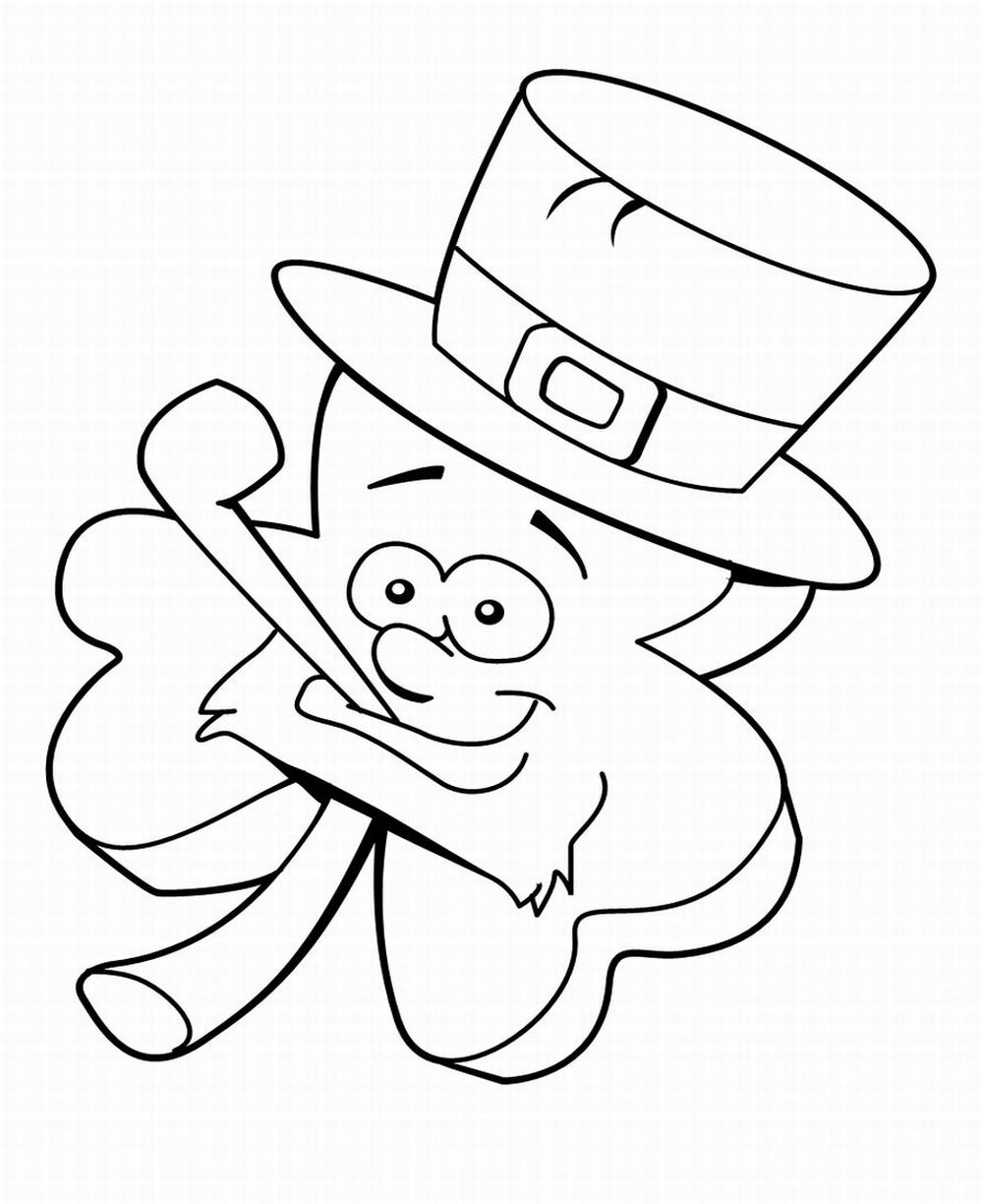 st patty's day coloring pages - coloring pages st patricks day