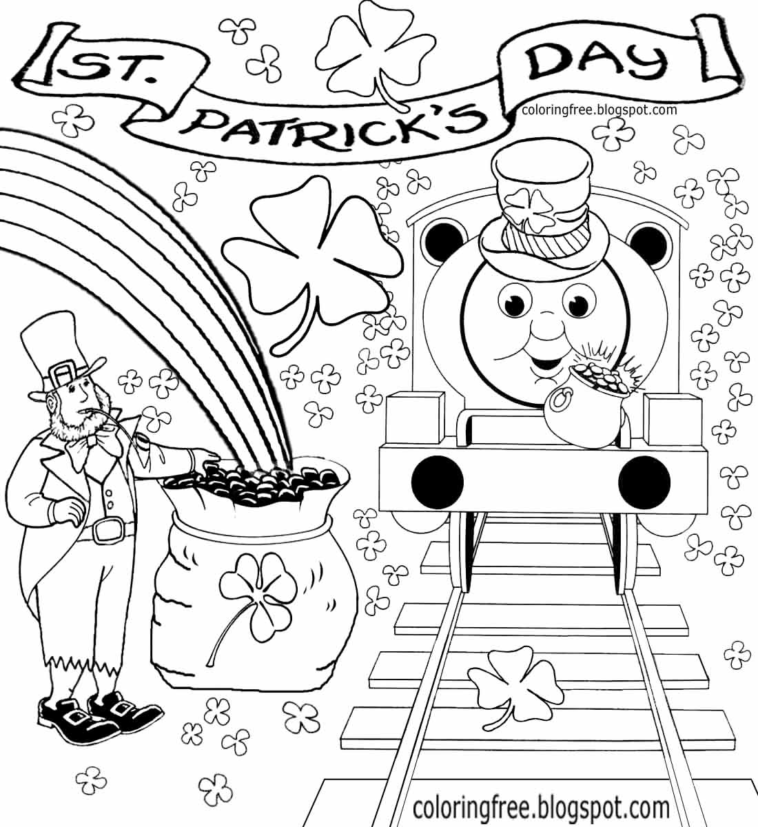27 St Patty\'s Day Coloring Pages Compilation | FREE COLORING PAGES ...