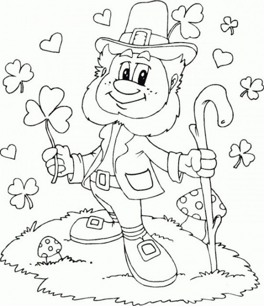 st patty's day coloring pages - coloring suite pages