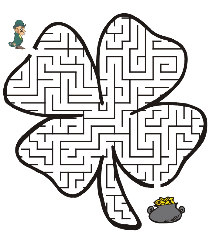 St Patty's Day Coloring Pages - St Pattys Day Coloring Pages Pic2 St Patricks Day Coloring P