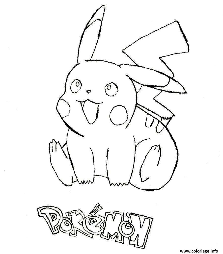 star coloring pages - pikachu 168 coloriage dessin