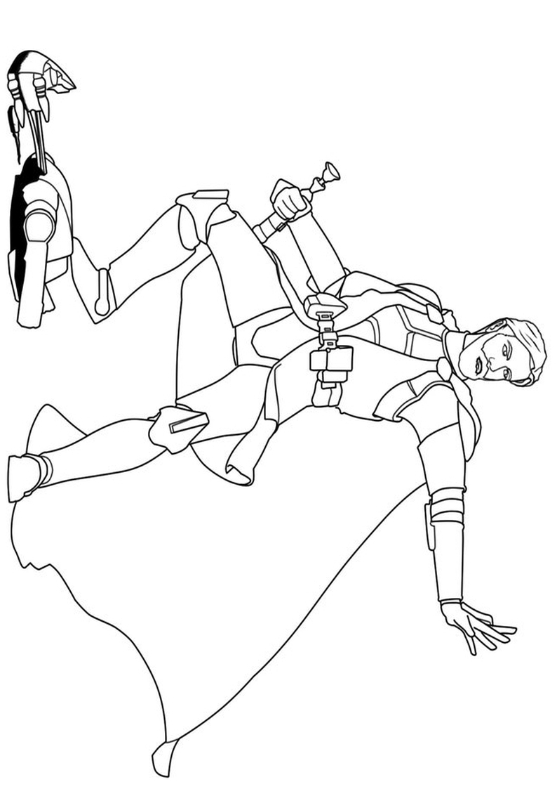 star wars clone wars coloring pages - dla chlopcow kolorowanka Star Wars 16