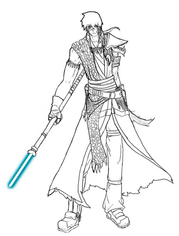 star wars clone wars coloring pages - star wars 34