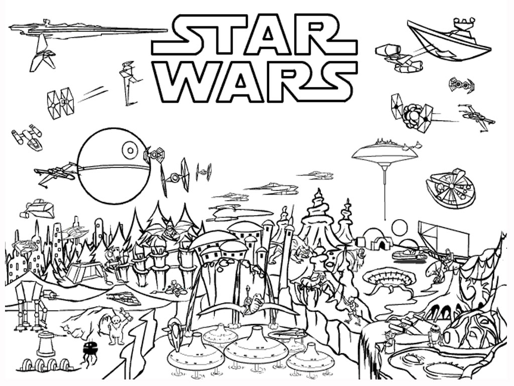 Star Wars Coloring Pages Free - Free Printable Star Wars Coloring Pages Free Printable