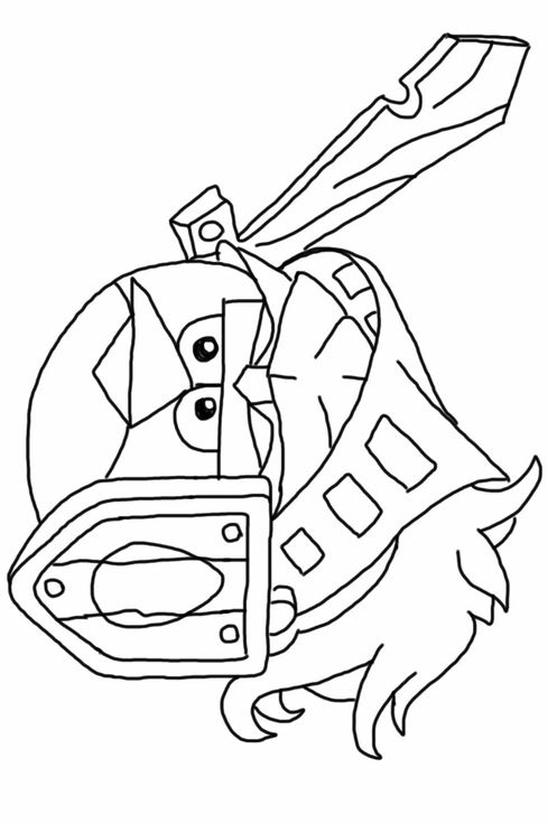 star wars printable coloring pages - kolorowanka Angry Birds malowanka do wydruku 3