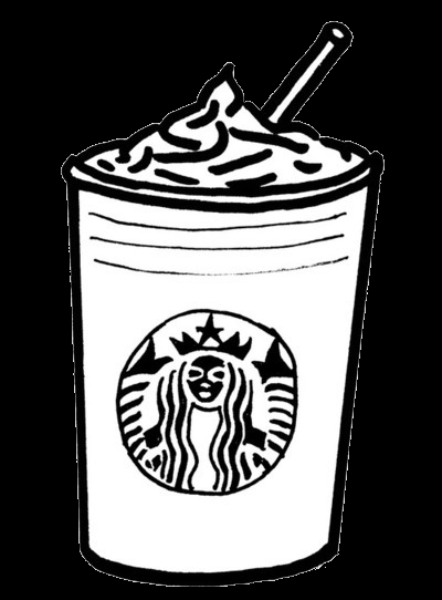 24 Starbucks Coloring Page Printable | FREE COLORING PAGES