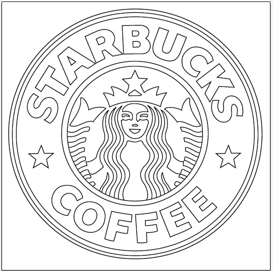 starbucks coloring page - tumblr starbucks coloring pages sketch templates
