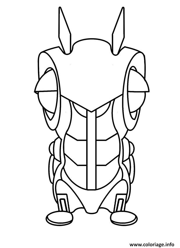 starwars coloring pages - slugterra roboslug coloriage dessin