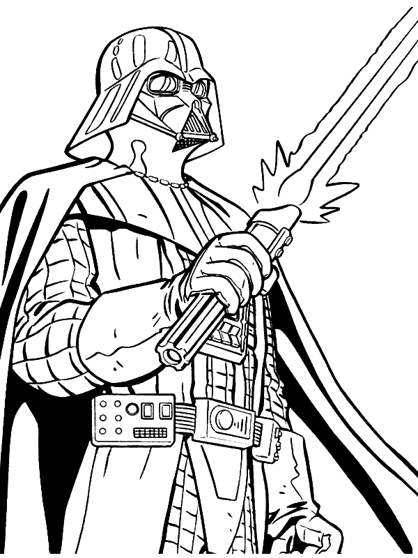 starwars coloring pages - dessin a colorier star wars capitaine rex