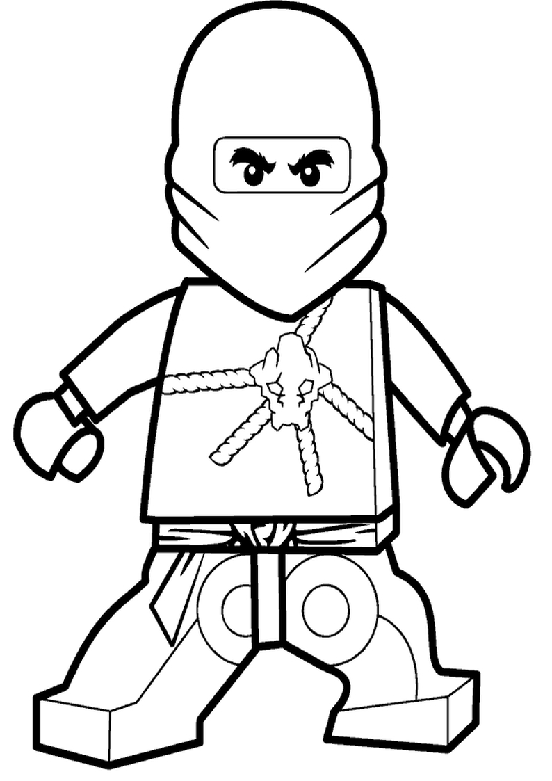 starwars coloring pages - kolorowanka lego ninjago 2