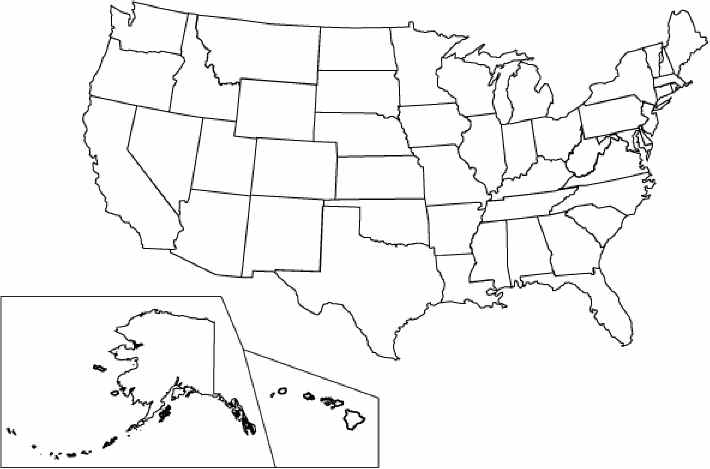state coloring pages - united states coloring