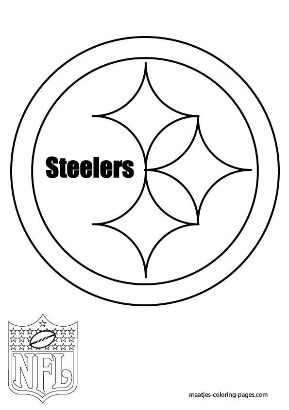 steelers coloring pages - pgh steelers