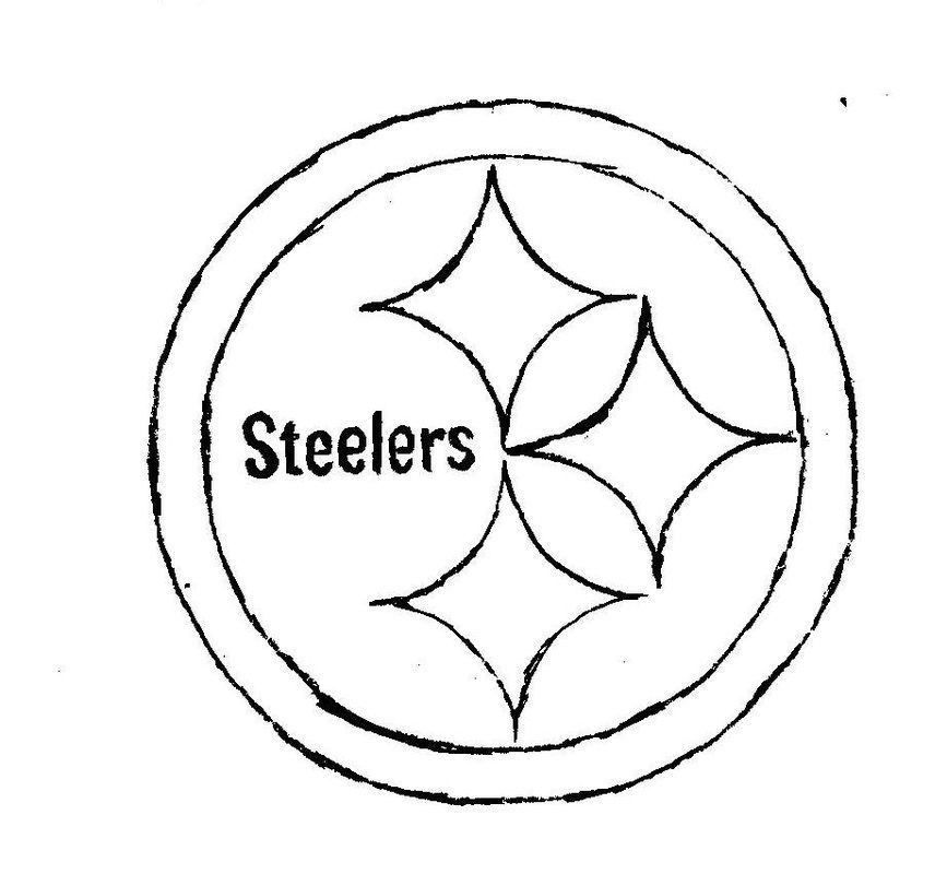 steelers coloring pages - pittsburgh steelers coloring pages