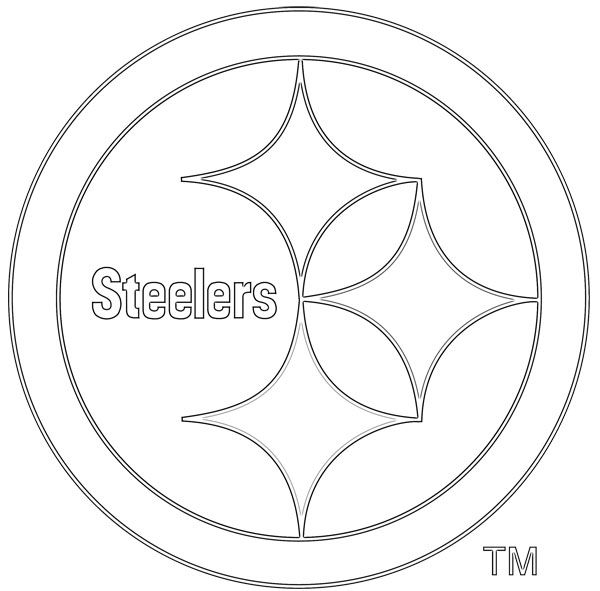 steelers coloring pages -