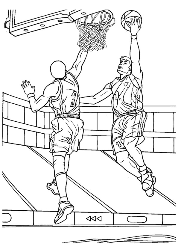 Stephen Curry Coloring Pages - Kleurplaten En Zo Kleurplaten Van Basketbal