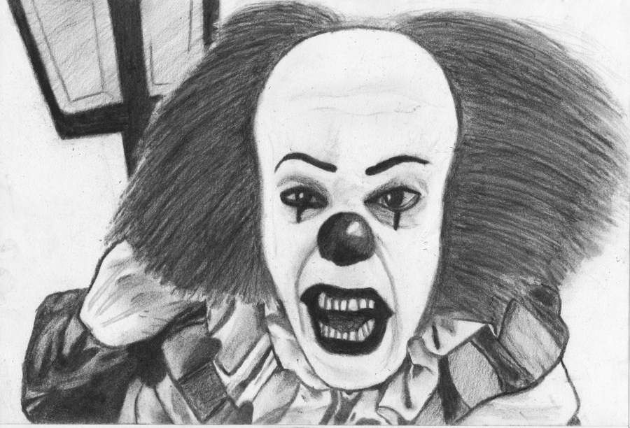 stephen curry coloring pages - Stephen King s Pennywise IT