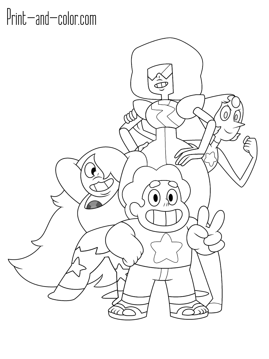 24 Steven Universe Coloring Pages Pictures | FREE COLORING PAGES ...