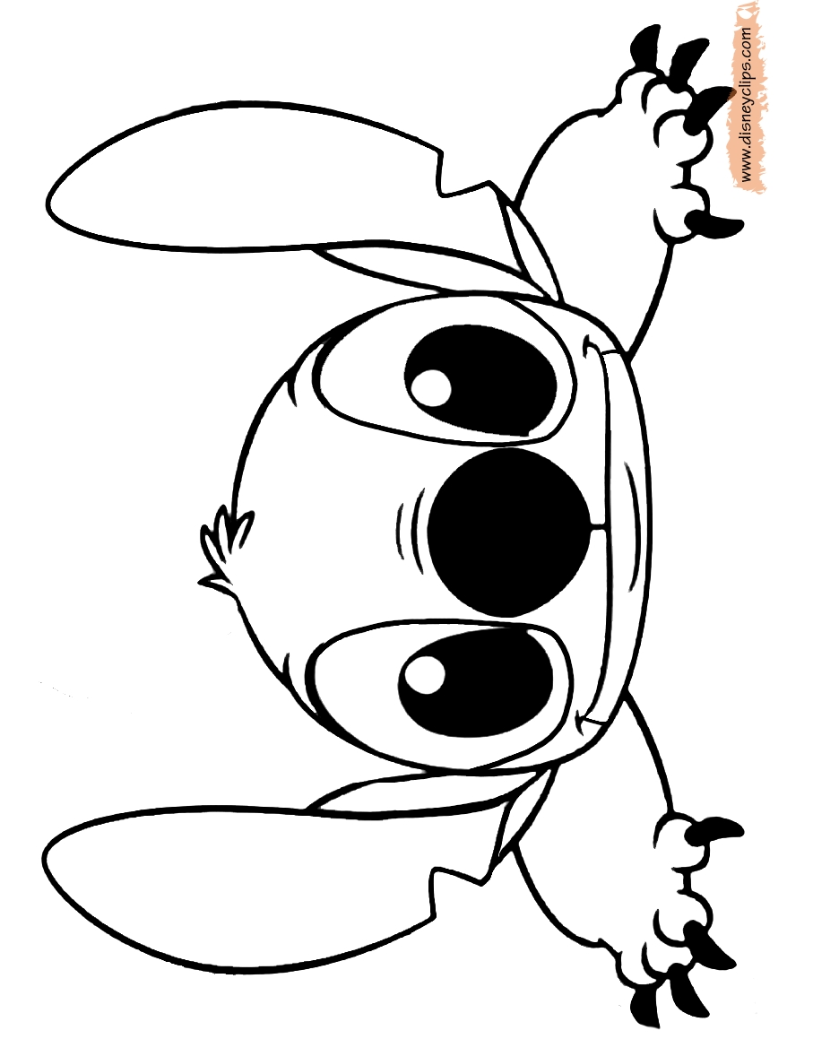 Stitch Coloring Pages - Lilo and Stitch Printable Coloring Pages
