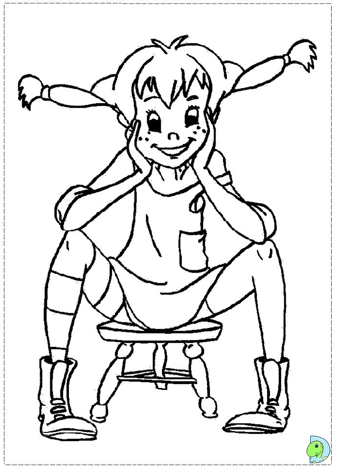 stocking coloring page - 002 coloringpippi 05